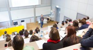 Conferenza all'università Fotografie Stock Libere da Diritti