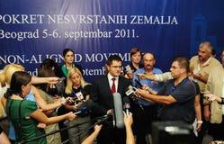 Conferenza dei capi di stato dei paesi Non allineati Fotografie Stock
