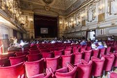 Conferenza di progettazione concettuale di NAPOLI di TED X Fotografia Stock