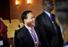Conferenza di seminario di riunione di Alliance di associazione Immagine Stock Libera da Diritti