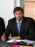 Conferenza stampa del tirante Delage Fotografia Stock Libera da Diritti