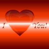 Confesión del amor Imagen de archivo libre de regalías