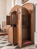 confesional Imagen de archivo