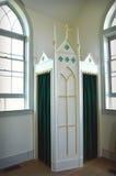confesional Imagen de archivo libre de regalías