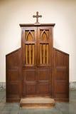 confesional Imágenes de archivo libres de regalías
