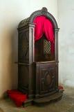 confesional Foto de archivo libre de regalías