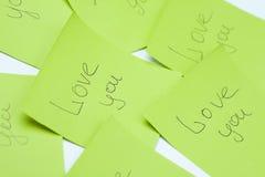 Confesiones del amor Foto de archivo libre de regalías
