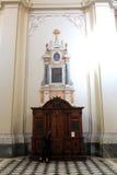 Confesonario católico Imagen de archivo libre de regalías