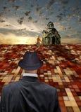 Confesser и наблюдатель Стоковые Изображения