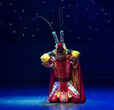 Confession-Handsome Monkey King-Chinese folk dance Stock Photo