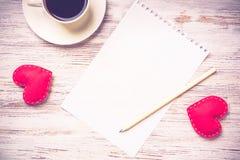 Confession le jour de valentines Photographie stock