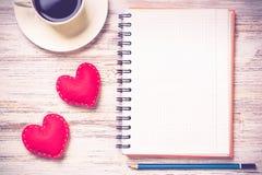 Confession le jour de valentines Images libres de droits