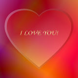 Confession of love Stock Photo