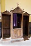confessional коробки Стоковая Фотография