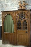Confessional booth Royalty Free Stock Photo