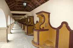 Confessional Booths Stock Image