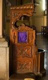 Confessional Chair Basilica Guanajuato Mexico Stock Photos