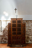 Confessional church Stock Image
