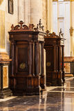 Confessional Royalty Free Stock Photos