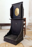 Confessional in the Misericordia. 16th century late Renaissance Architecture. Royalty Free Stock Image