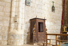 Confessional Stock Image