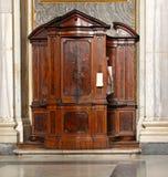 Confessionale Immagine Stock