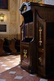confessionale Fotografia Stock Libera da Diritti