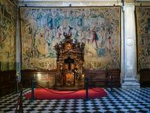 Confessionale in Di Santa Maria Maggiore della basilica fotografia stock