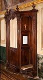 Confessionnel photo libre de droits