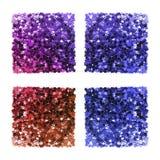 Confetes coloridos isolados Foto de Stock