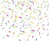 Confetes e flâmulas Foto de Stock Royalty Free