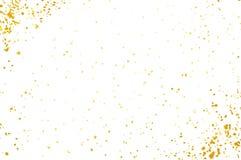 Confetes isolados no fundo branco Contexto colorido abstrato do vetor Imagem de Stock Royalty Free