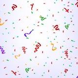 Confetes na festa de anos Fotografia de Stock