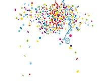 Confeti ilustración del vector
