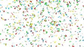 Confeti colorido stock de ilustración