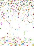 Confeti colorido ilustración del vector