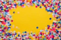 Confeti colorido fotos de archivo libres de regalías