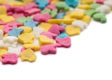 Confeti colorido del caramelo imagen de archivo libre de regalías