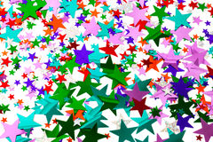 Confeti de la estrella Fotos de archivo
