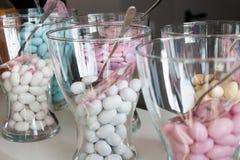 Confeti del caramelo Imagenes de archivo