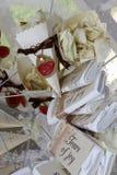 Confeti para usted día de boda Fotos de archivo libres de regalías