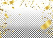 Confeti que cae en fondo Ilustración del vector CCB del elemento libre illustration