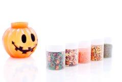 Confetteria di Halloween Fotografie Stock Libere da Diritti