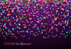 Confetti в картине воздуха Стоковое Изображение