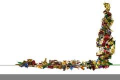 confetti граници Стоковая Фотография