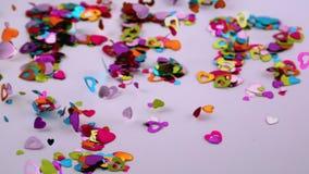 Confetti дует прочь видеоматериал