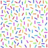 Confetti, праздничный, салют, акварель нашивок бесплатная иллюстрация