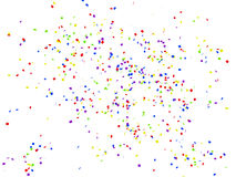Confetti Royalty Free Stock Photo