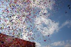 Confetti fotografia de stock royalty free