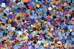 Confetti. Colorful confetti for background use Royalty Free Stock Image